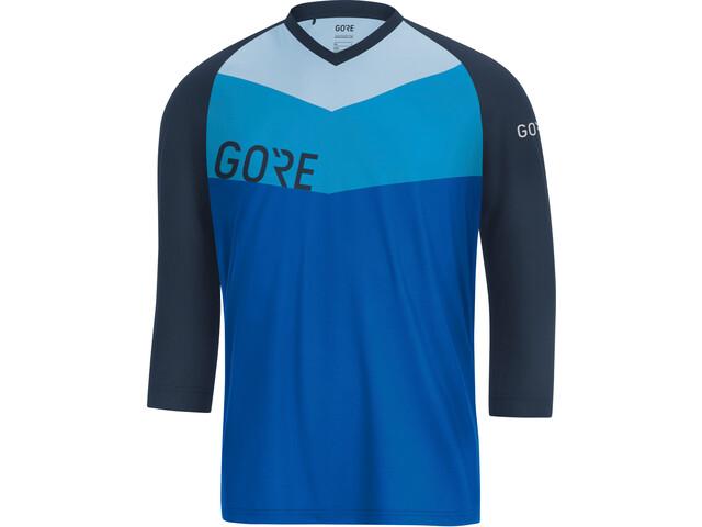 GORE WEAR C5 All Mountain 3/4 Jersey Men dynamic cyan/marine blue